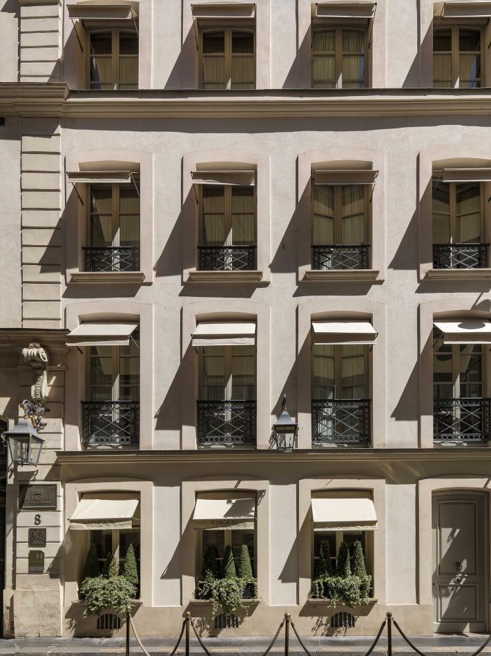 Marquis Faubourg Saint-Honoré - Hôtel - Façade de l'hôtel