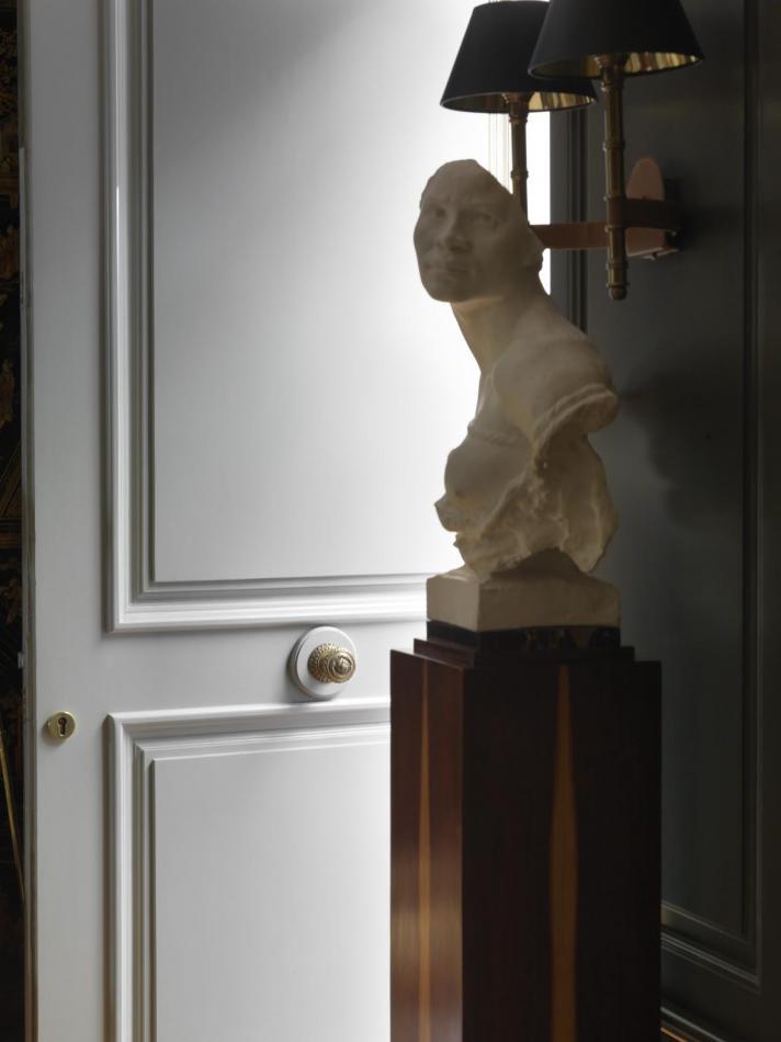 Marquis Faubourg Saint-Honoré - Hôtel - Statue